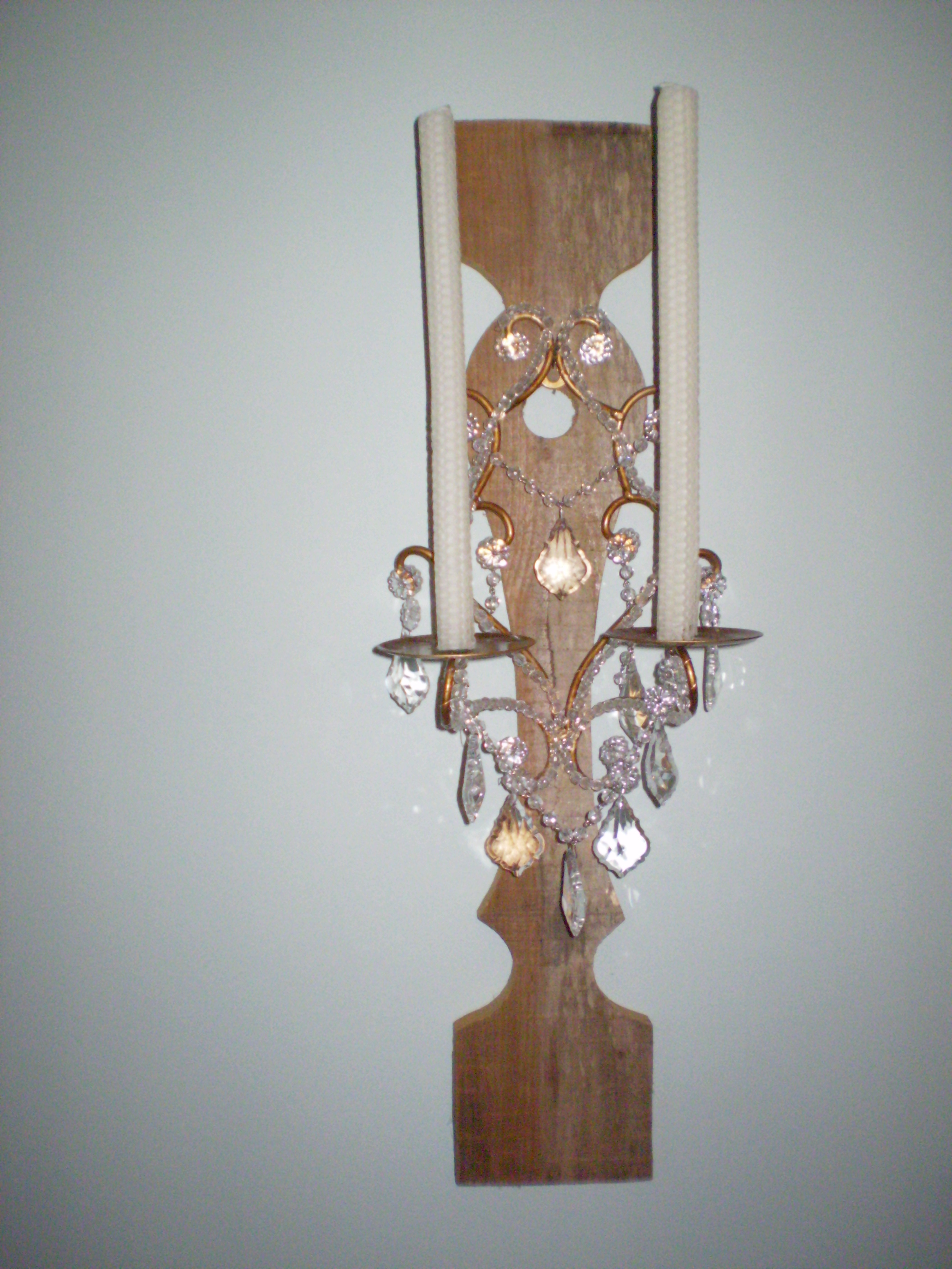 French Look Candle Sconces deborahwoodmurphy