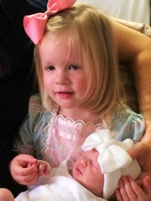 amelia and baby sistr